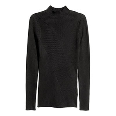 Mock-Turtleneck Sweater