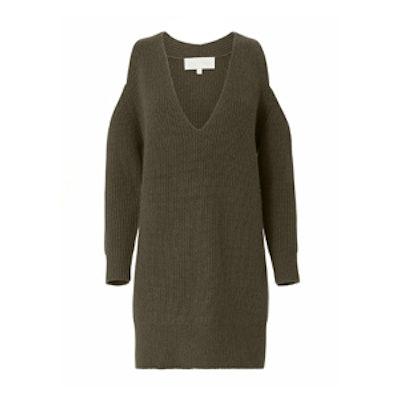 Cold Shoulder Sweater Dress