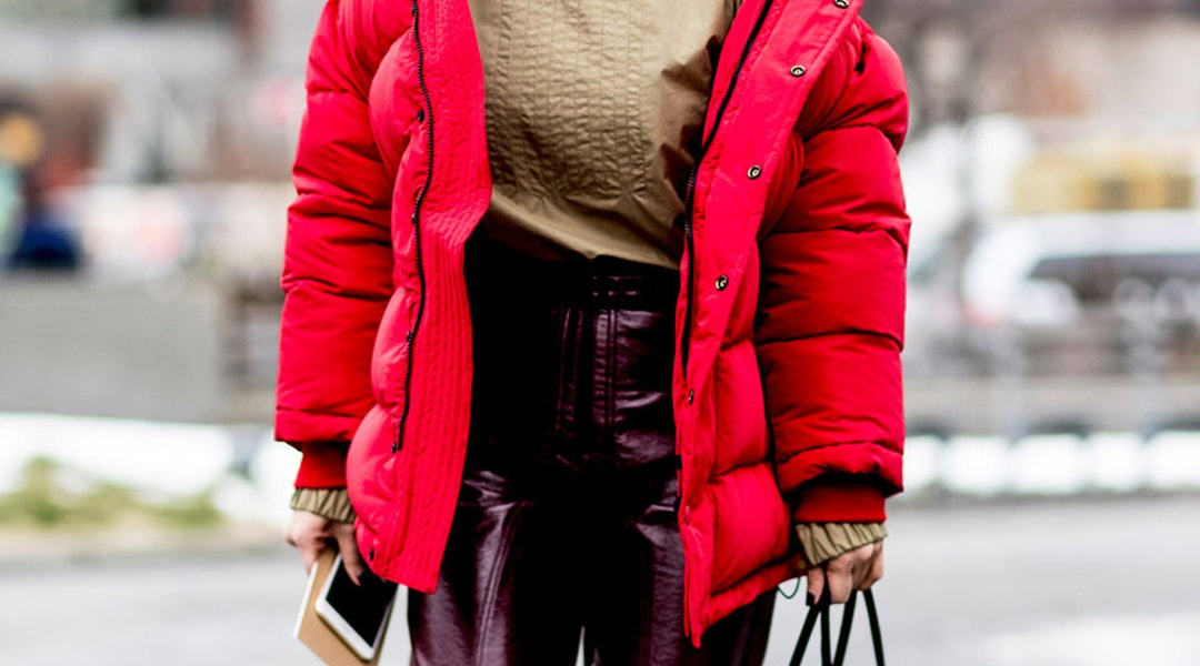 12f68c7d3 Fashion Girls Are Obsessed With This Practical Coat Trend
