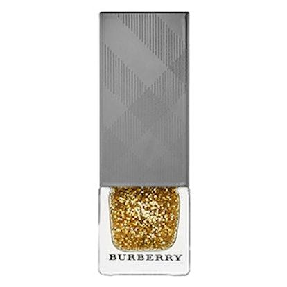 Nail Polish in Gold Glitter No.451
