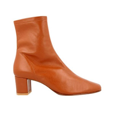 Sofia Brown Leather Boots