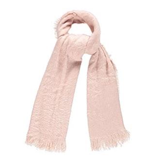 Fuzzy Knit Oblong Scarf