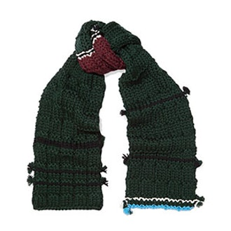 Tasseled Wool Scarf