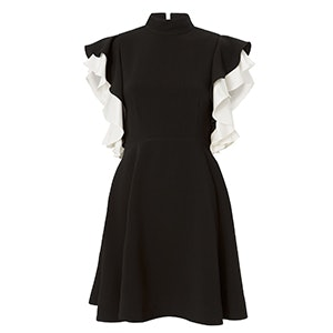 Reina Ruffle Sleeve Mini Dress