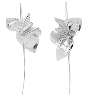 Lancet Sterling Silver Earrings