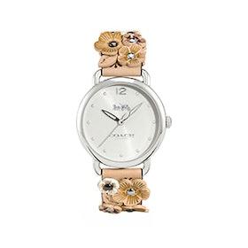 Delancey Watch With Floral Applique
