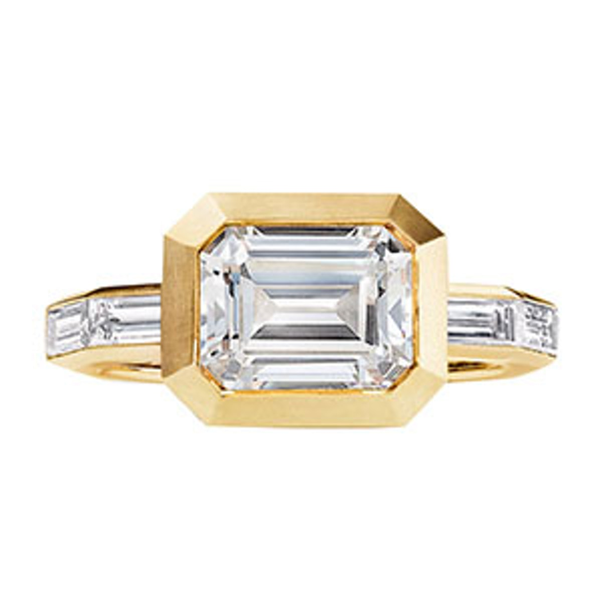 Delaunay Engagement Ring in 18K Gold