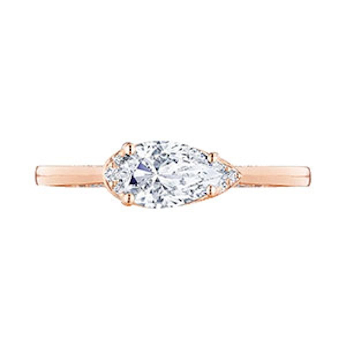 Simply Tacori Pear Shaped Diamond