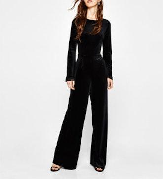 Long Velvet Jumpsuit