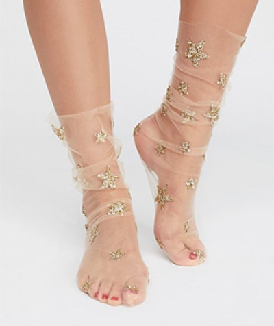 Stars In Her Eyes Anklet