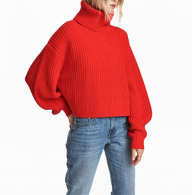 Knit Wool-Blend Sweater