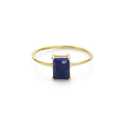 Neptune Ring in Lapis