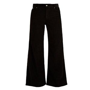 Charlotte High-Rise Wide-Leg Corduroy Trousers