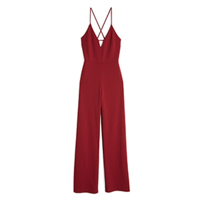 Cut-Out Front Jumpsuit