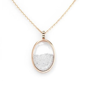 Stardust Oval Necklace