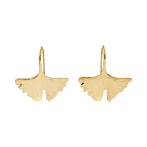 Tangerine Gold-Plated Earrings