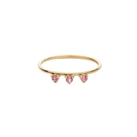 Lily Ring in Pink Tourmaline