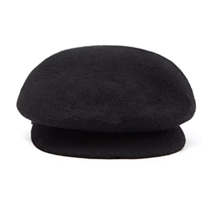 Wool-Blend Cabby Hat