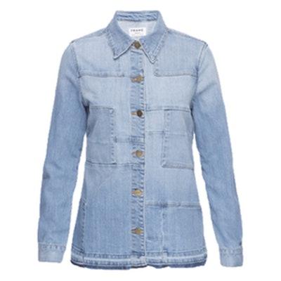 Le Patchwork Jacket Released Hem