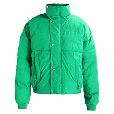 Slouchy Puffer Coat