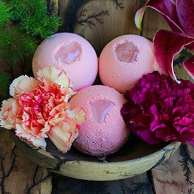 Cocoa Butter Rose Quartz Bath Bomb