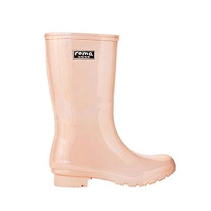 'Emma' Short Blush Women's Rain Boots