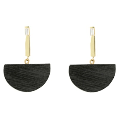 Half Moon Bar Earrings