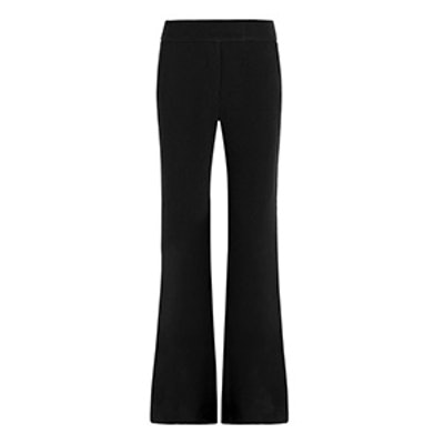 Reed Stretch-Crepe Flare Pants