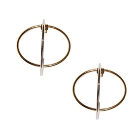 Gaige Gold Geometric Ear Jackets