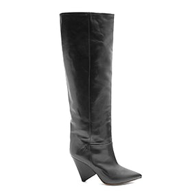 Loko Smooth-Leather Knee-High Boots