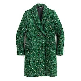Daphne Coat in Italian Tweed
