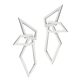 Interlocking Angle Earrings