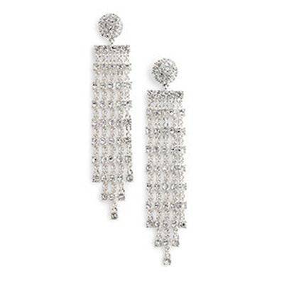 Prima Donna Crystal Drop Earrings