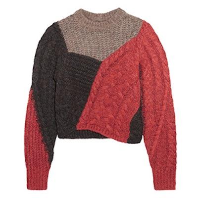 Arty Knit Sweater