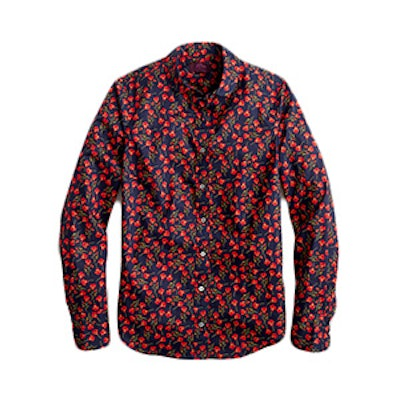 Perfect Shirt in Liberty® Ros floral