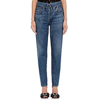 Flip Straight Jeans