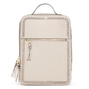 Kaya Laptop Backpack In Stone
