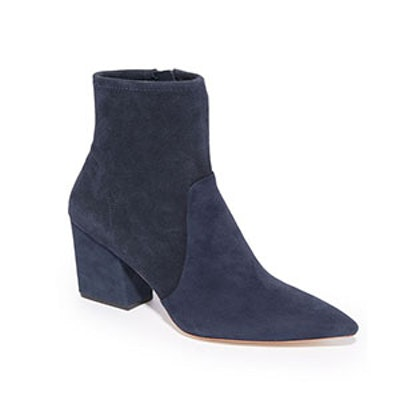 Isla Stretch Pointed Toe Booties