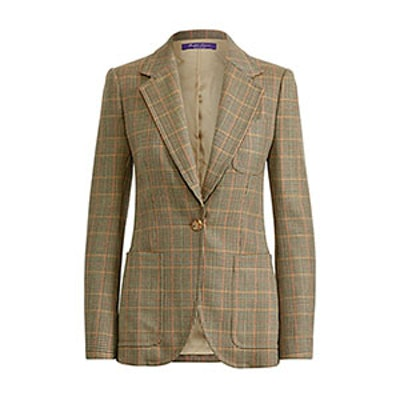 Afton Glen Plaid Wool Jacket