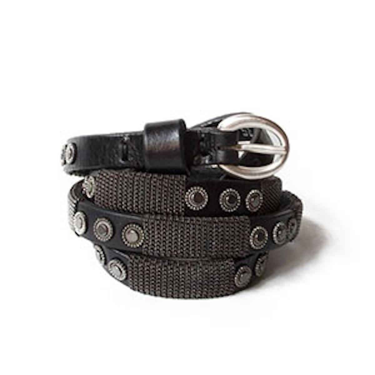 Puntovida Thin Studded Belt