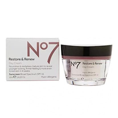 Restore & Renew Day Cream, SPF 15