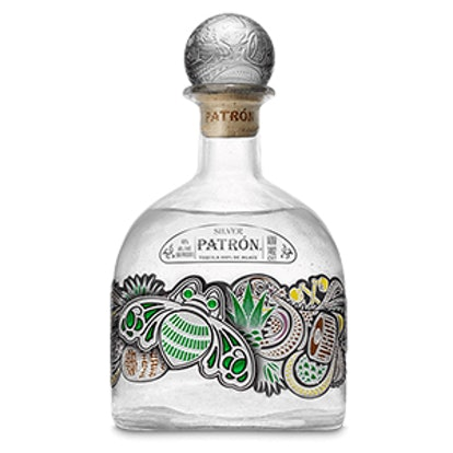 2017 Limited Edition Patron Silver 1-Liter