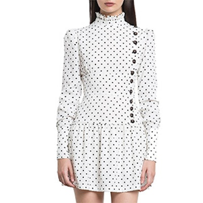 Irina Polka Dot Button Dress