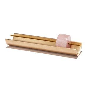 Rose Quarts Burner + Incense Set