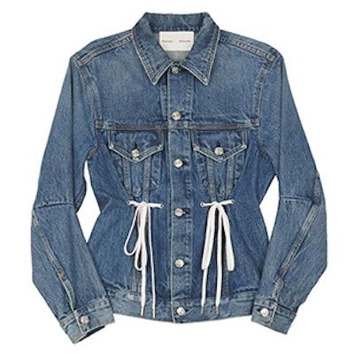 PSWL Denim Drawstring Jacket