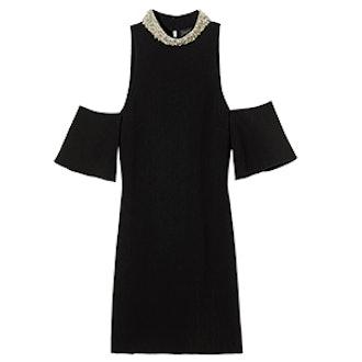 Bixley Pearl Collar Mini Dress