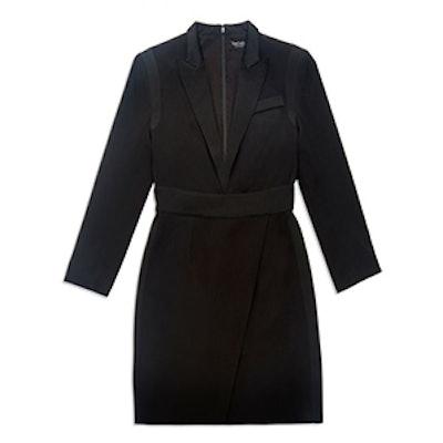 Evans Tux Mini Dress