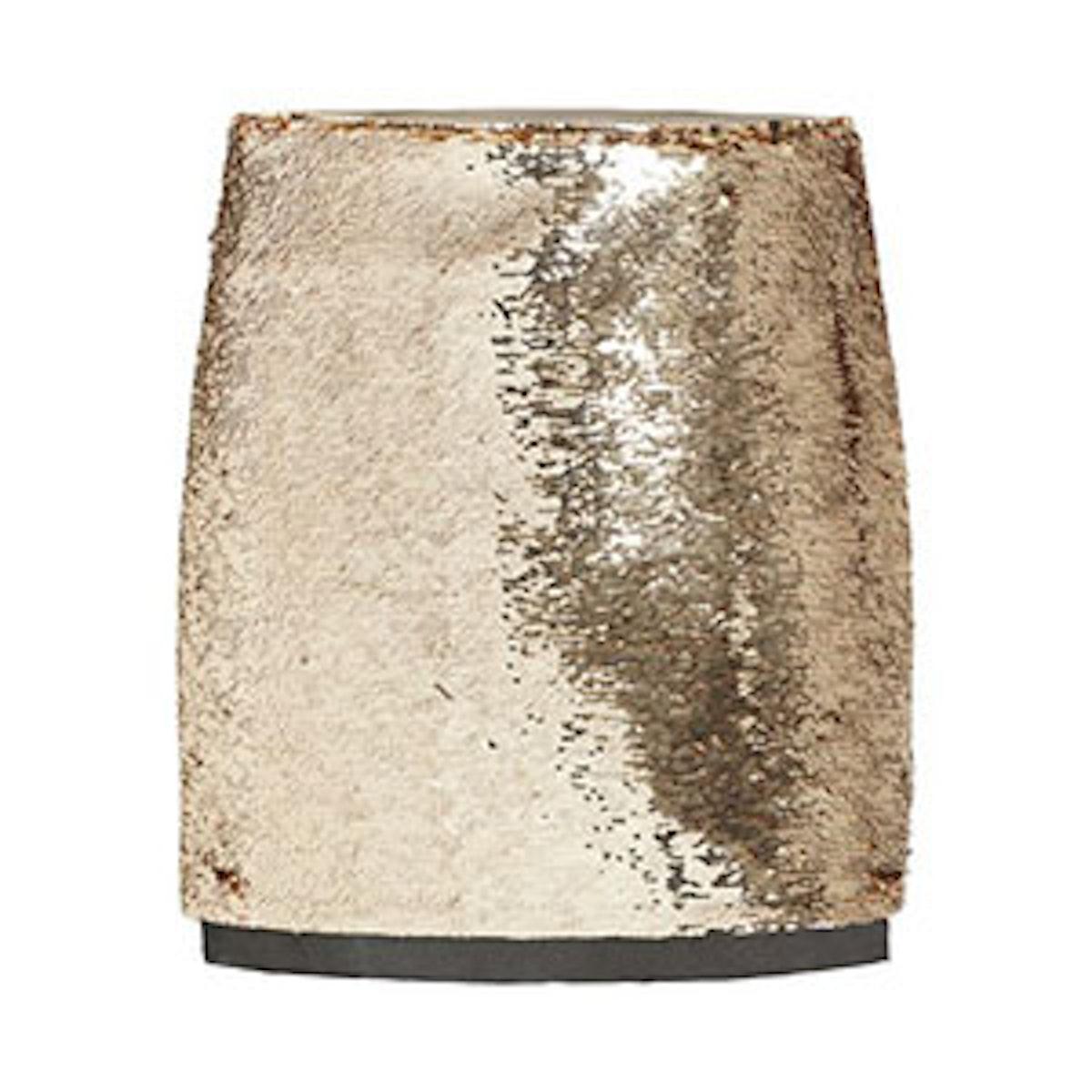 Finn Mini Paillette Mini Skirt