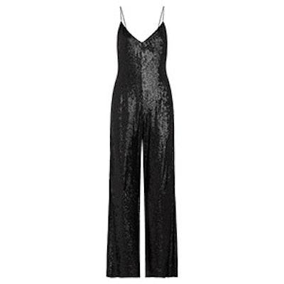 Wren Fluid Sequin Jumpsuit