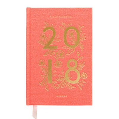 2018 Agenda Slim Book Cloth Cover